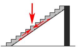 Выбор схемы армирования лестницы