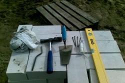 Инструменты для выполнения кирпичной кладки