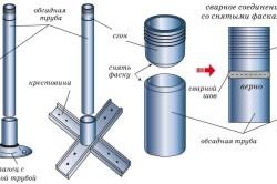 Схема крепления металлических балясин к ступеням.