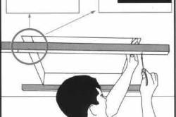 Монтаж чердачной лестницы
