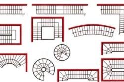 Варианты маршевых и винтовых лестниц на мансарду