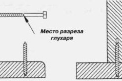 Крепление балясины шпилькой к ступени