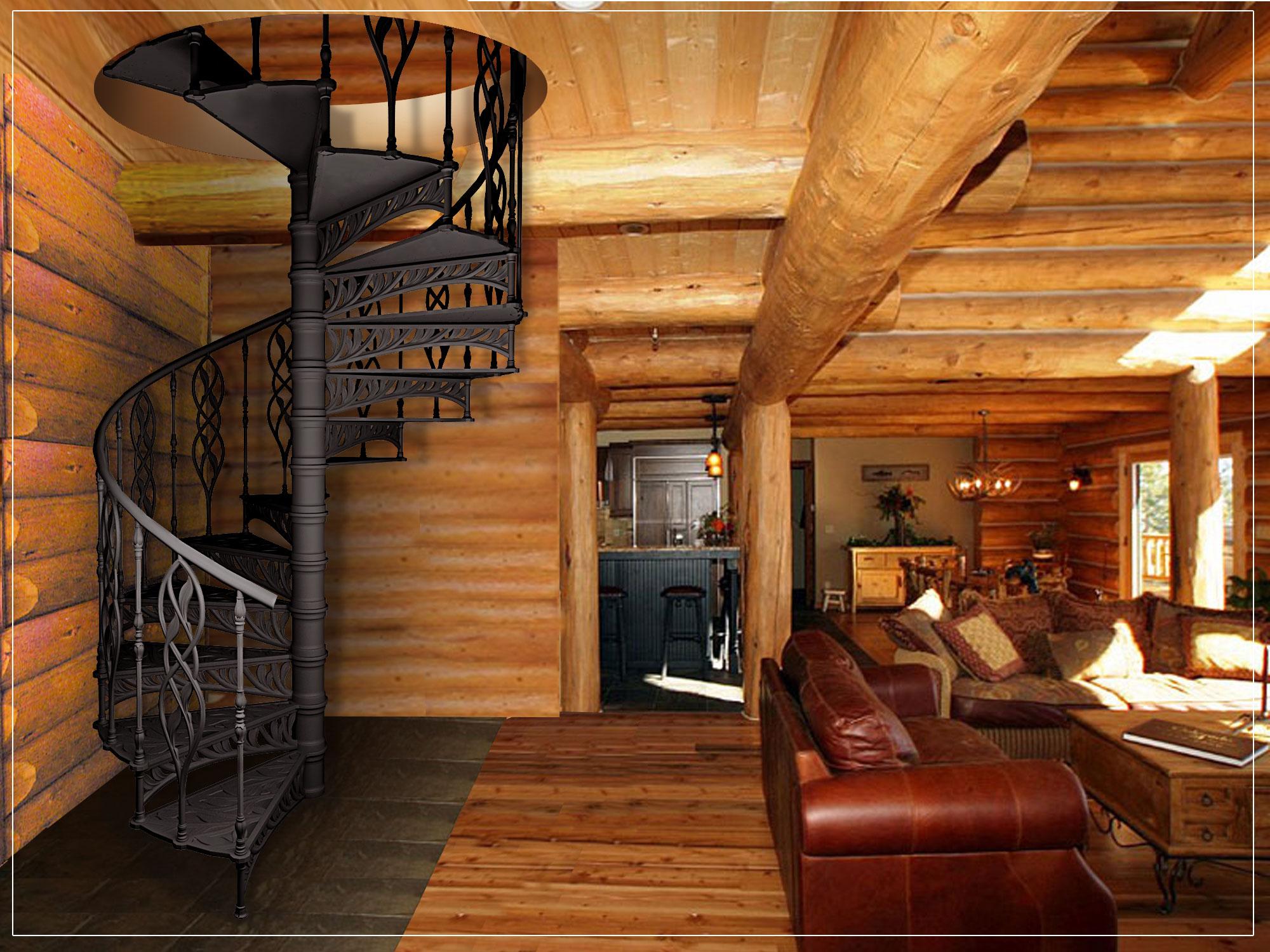 Винтовые лестницы позволяют преобразить любой интерьер. Ее можно собрать своими руками на любой вкус.