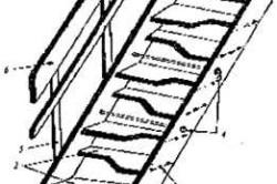"""Устройство лестницы """"утиный шаг"""""""